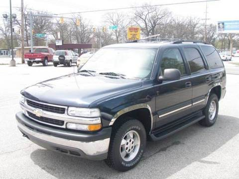 2004 Chevrolet Tahoe for sale at Autoworks in Mishawaka IN