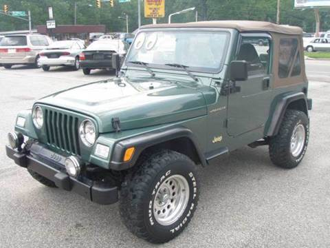 2000 Jeep Wrangler for sale at Autoworks in Mishawaka IN