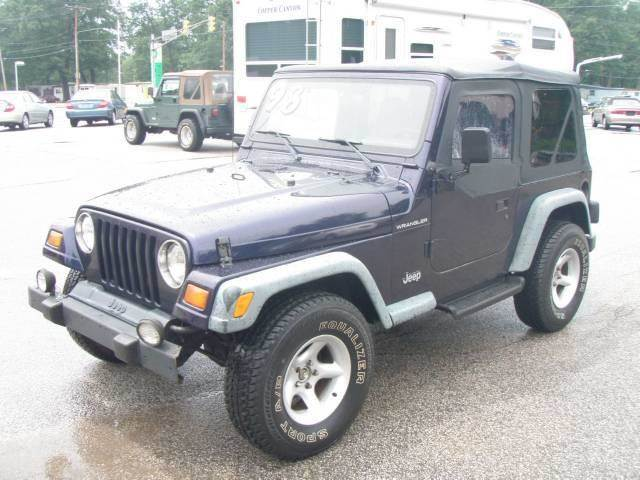 1998 Jeep Wrangler for sale at Autoworks in Mishawaka IN