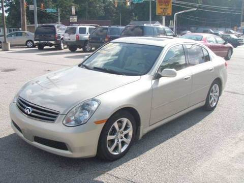 2005 Infiniti G35 for sale at Autoworks in Mishawaka IN