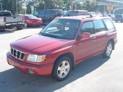 2002 Subaru Forester for sale at Autoworks in Mishawaka IN