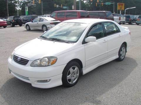 2005 Toyota Corolla for sale at Autoworks in Mishawaka IN