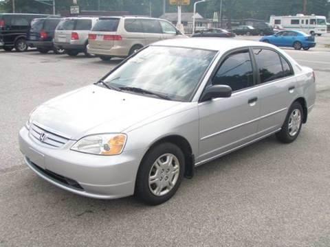 2001 Honda Civic for sale at Autoworks in Mishawaka IN