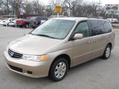 2002 Honda Odyssey for sale at Autoworks in Mishawaka IN