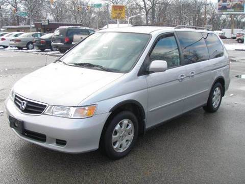 2004 Honda Odyssey for sale at Autoworks in Mishawaka IN