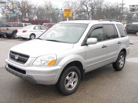 2004 Honda Pilot for sale at Autoworks in Mishawaka IN