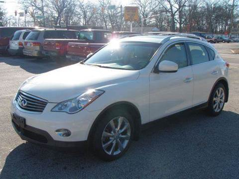 2008 Infiniti EX35 for sale at Autoworks in Mishawaka IN