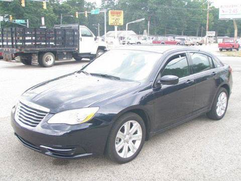 2012 Chrysler 200 for sale at Autoworks in Mishawaka IN