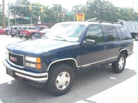 1999 GMC Yukon for sale at Autoworks in Mishawaka IN