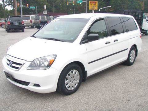 2007 Honda Odyssey for sale at Autoworks in Mishawaka IN