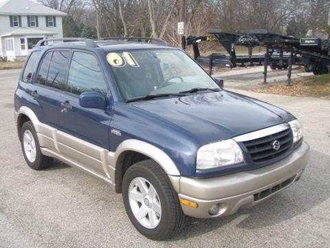 2001 Suzuki Grand Vitara for sale at Autoworks in Mishawaka IN