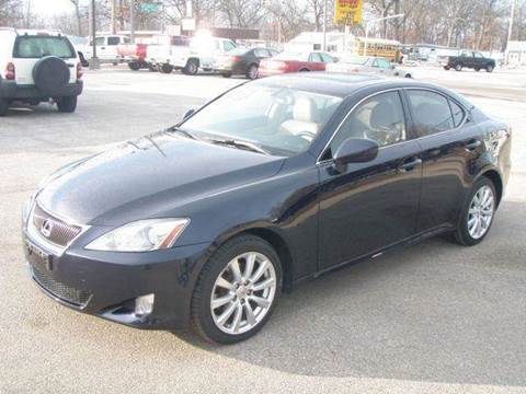 2008 Lexus IS 250 for sale at Autoworks in Mishawaka IN