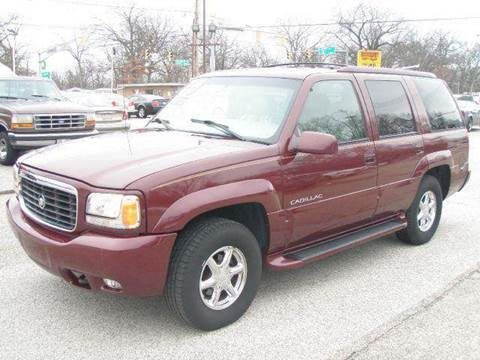 2000 Cadillac Escalade for sale at Autoworks in Mishawaka IN