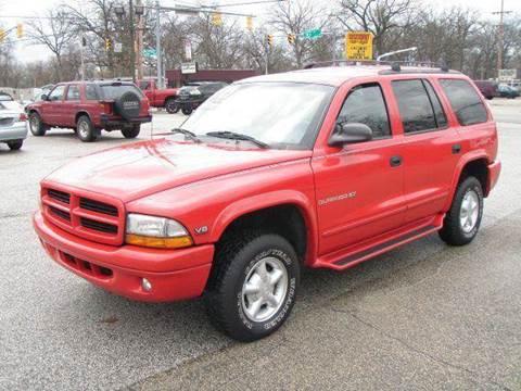 2000 Dodge Durango for sale at Autoworks in Mishawaka IN