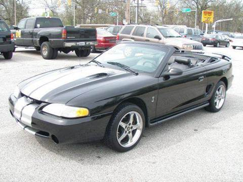1997 Ford Mustang for sale at Autoworks in Mishawaka IN