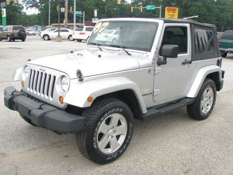 2007 Jeep Wrangler for sale at Autoworks in Mishawaka IN
