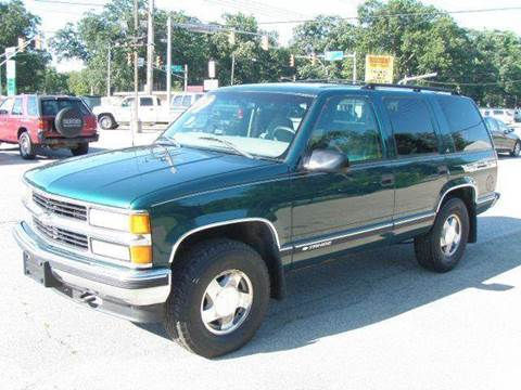 1999 Chevrolet Tahoe for sale at Autoworks in Mishawaka IN
