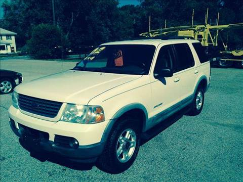 2002 Ford Explorer for sale at Autoworks in Mishawaka IN
