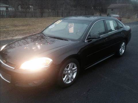 2011 Chevrolet Impala for sale at Autoworks in Mishawaka IN