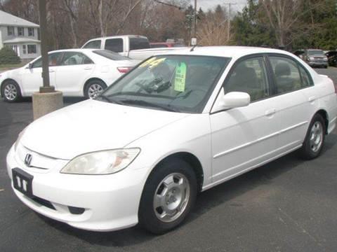 2004 Honda Civic for sale at Autoworks in Mishawaka IN