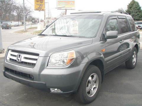 2007 Honda Pilot for sale at Autoworks in Mishawaka IN