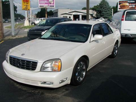 2001 Cadillac DeVille for sale at Autoworks in Mishawaka IN