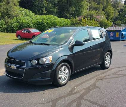 2014 Chevrolet Sonic for sale at Autoworks in Mishawaka IN