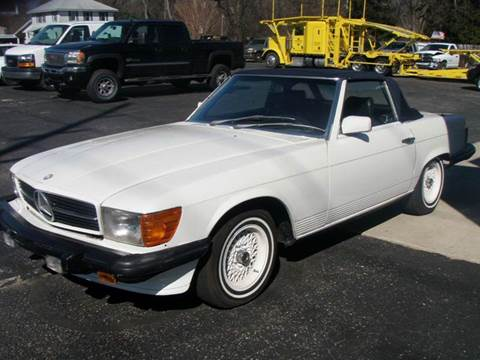 1985 Mercedes-Benz 380-Class for sale at Autoworks in Mishawaka IN