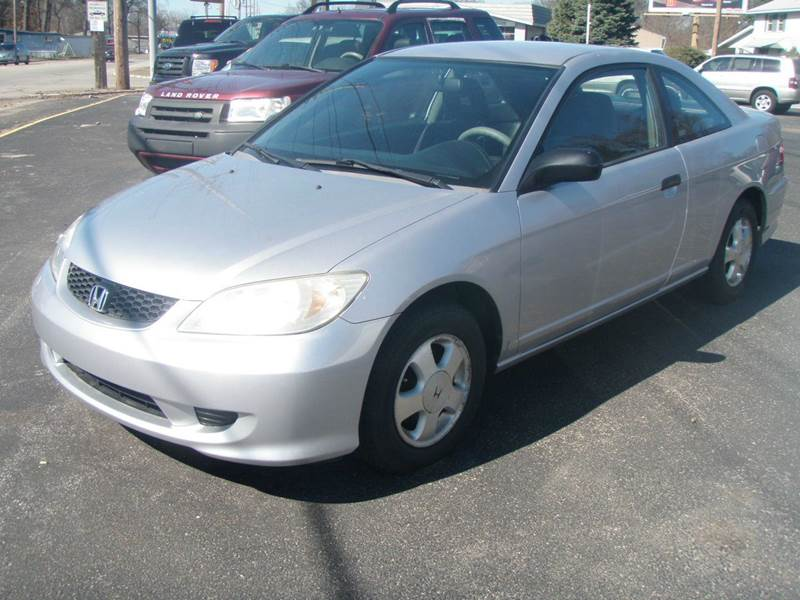 2005 honda civic value package 2dr coupe in mishawaka in autoworks. Black Bedroom Furniture Sets. Home Design Ideas