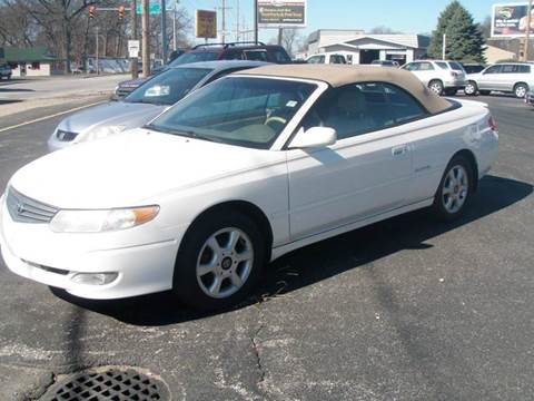 2002 Toyota Camry Solara for sale at Autoworks in Mishawaka IN