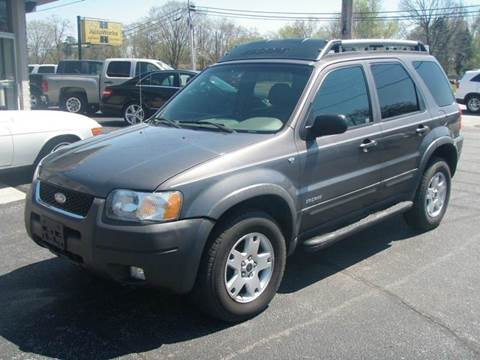 2002 Ford Escape for sale at Autoworks in Mishawaka IN