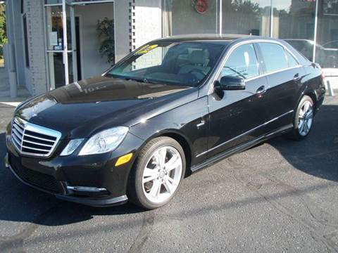 2012 Mercedes-Benz E-Class for sale at Autoworks in Mishawaka IN