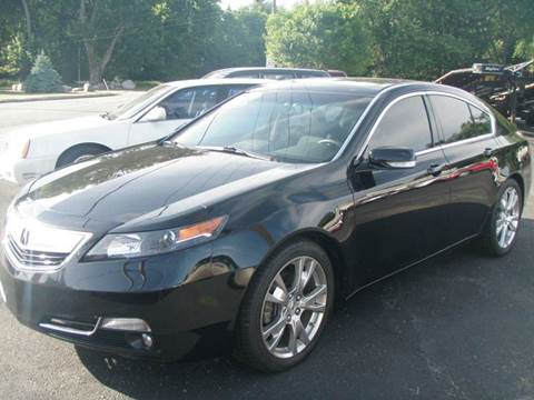 2012 Acura TL for sale at Autoworks in Mishawaka IN