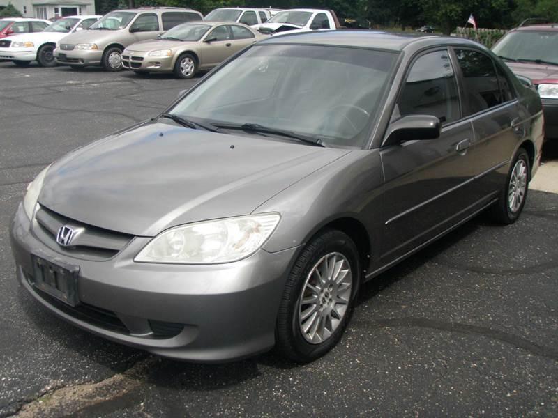 2005 Honda Civic LX Special Edition 4dr Sedan   Mishawaka IN