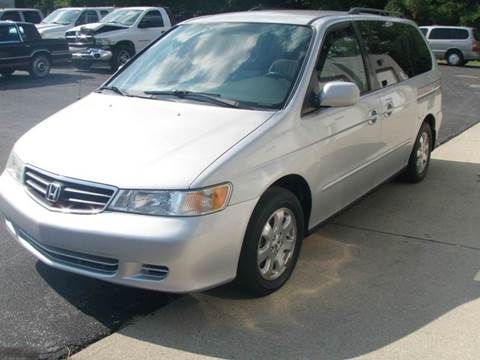 2003 Honda Odyssey for sale at Autoworks in Mishawaka IN