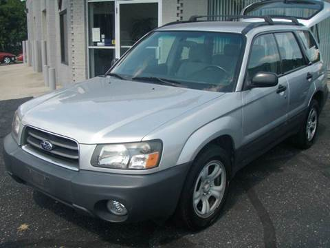 2003 Subaru Forester for sale at Autoworks in Mishawaka IN
