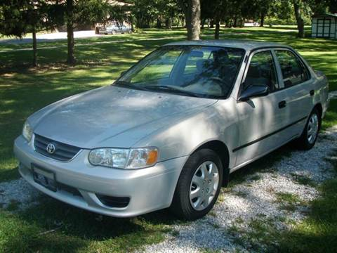 2002 Toyota Corolla for sale at Autoworks in Mishawaka IN