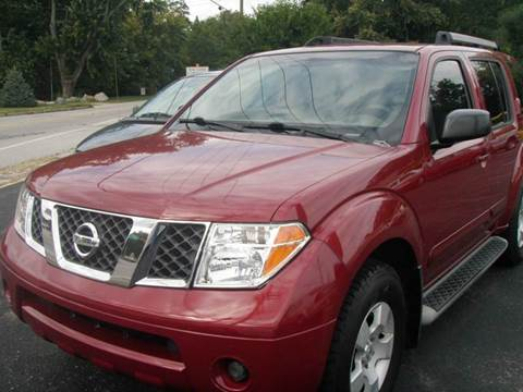 2006 Nissan Pathfinder for sale at Autoworks in Mishawaka IN