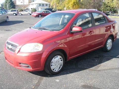 2011 Chevrolet Aveo for sale at Autoworks in Mishawaka IN