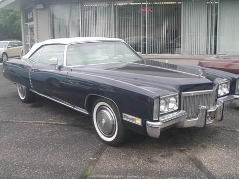 1972 Cadillac Eldorado for sale at Autoworks in Mishawaka IN
