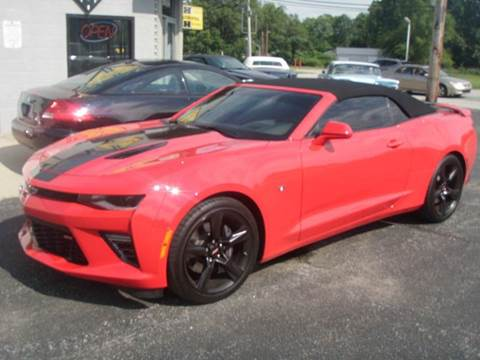 2016 Chevrolet Camaro for sale at Autoworks in Mishawaka IN