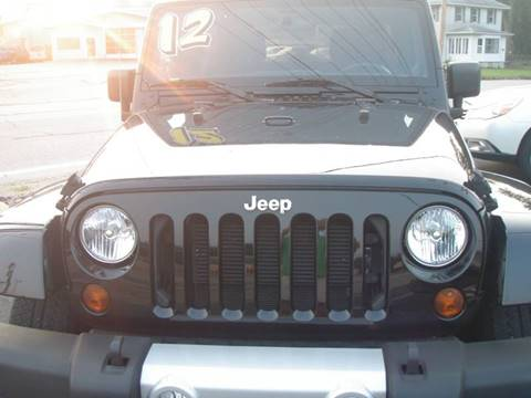 2012 Jeep Wrangler Unlimited for sale in Mishawaka, IN