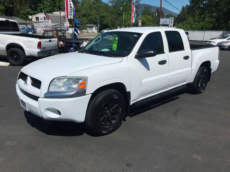 2007 Mitsubishi Raider Ls 4dr Double Cab 4wd Sb 4a In Grants Pass Or