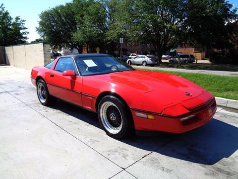 1988 Chevrolet Corvette for sale at Military Auto Store in Camp Lejeune NC