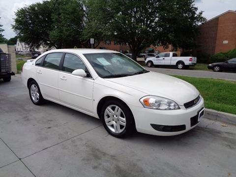 2007 Chevrolet Impala for sale at Military Auto Store in Camp Lejeune NC