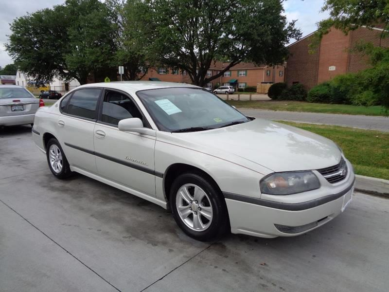 2003 Chevrolet Impala for sale at Military Auto Store in Camp Lejeune NC
