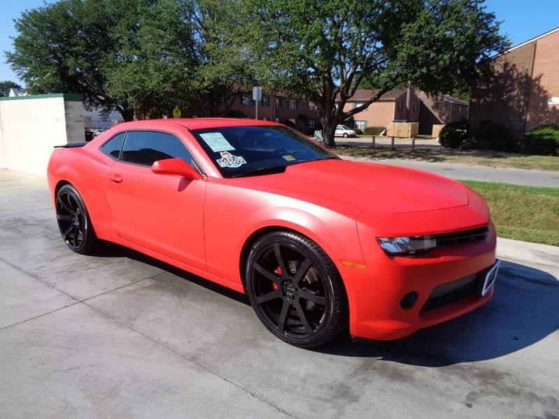 2015 Chevrolet Camaro for sale at Military Auto Store in Camp Lejeune NC
