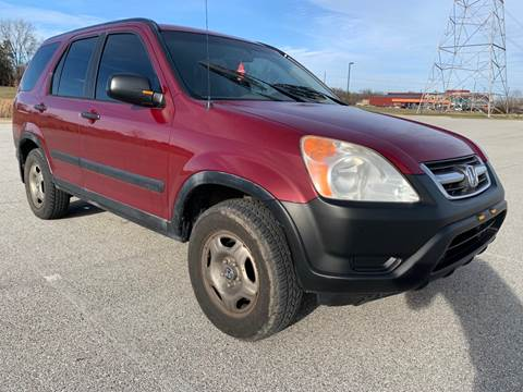 2002 Honda CR-V LX for sale at Quality Motors Inc in Indianapolis IN