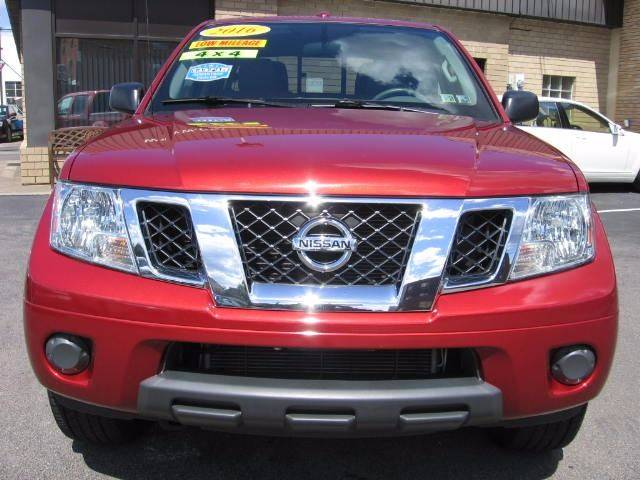 2016 Nissan Frontier 4x4 SV 4dr Crew Cab 5 ft. SB Pickup 5A - Wyoming PA