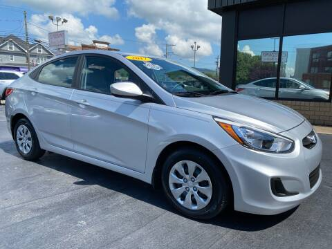 2017 Hyundai Accent for sale at C Pizzano Auto Sales in Wyoming PA
